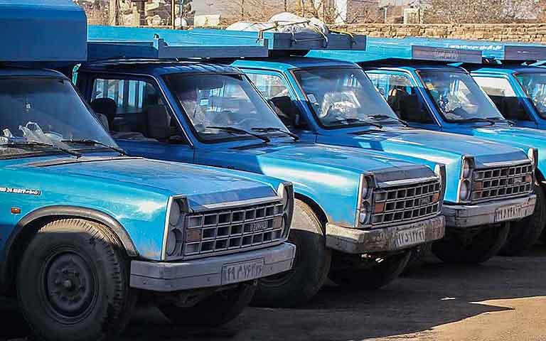 انواع خدمات حمل بار نیسان به استان گلستان