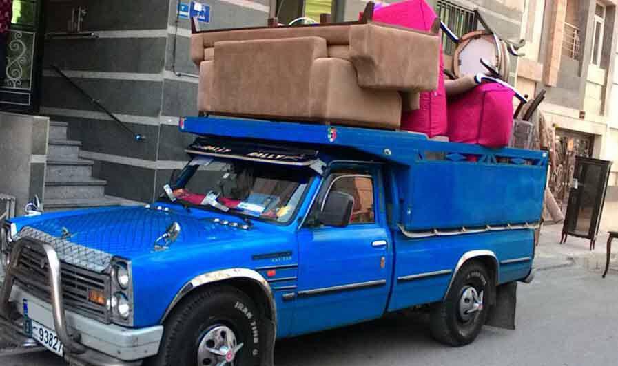 باربری نیسان حمل اثاثیه منزل