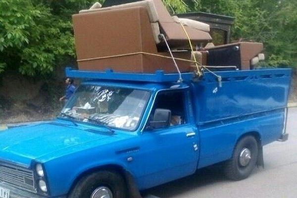 انواع خدمات ارسال بار نیسان به شهر تالش