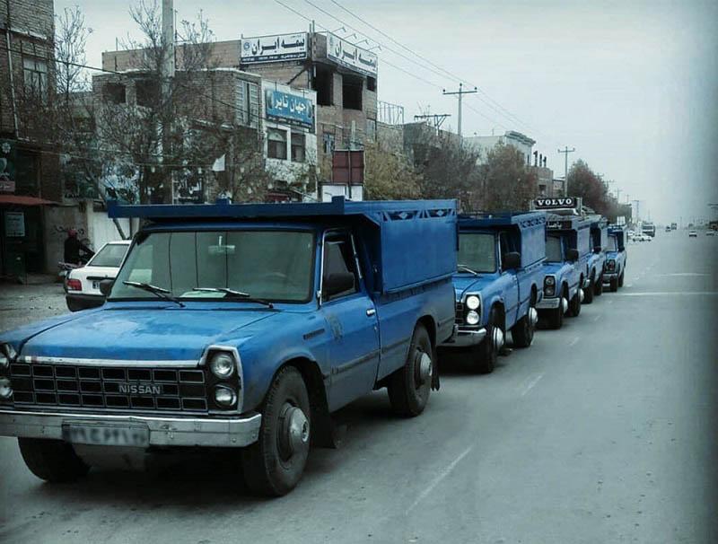 انواع خدمات ارسال بار نیسان به بندر ترکمن
