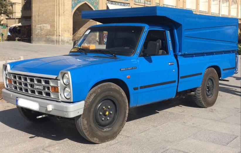 انواع خدمات ارسال بار نیسان به ایرانشهر