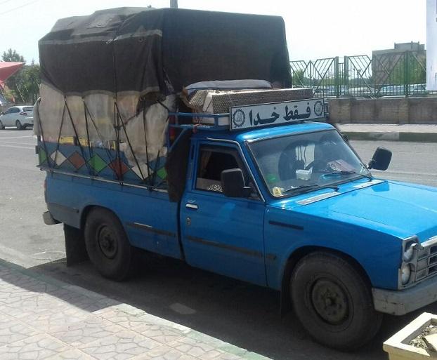 انواع خدمات حمل بار نیسان به علی آباد کتول
