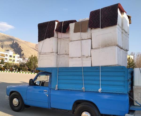 انواع خدمات حمل بار نیسان به لامرد